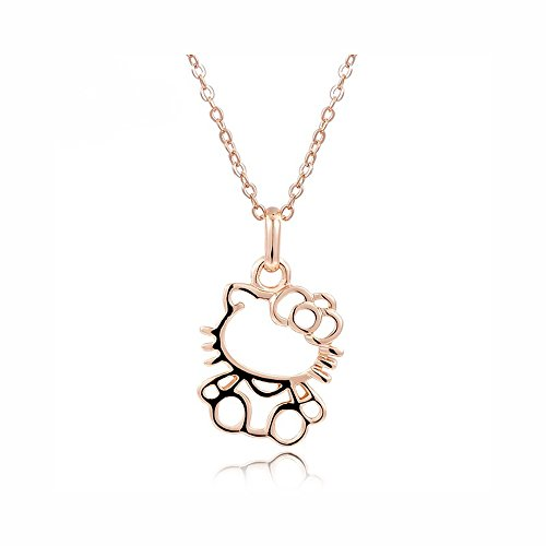 d9afc287b Mall of Style Hello Kitty Jewelry Gift - Necklace for Women/Girls (Curious)