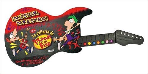 La guitarra de Phineas y Ferb Libros singulares: Amazon.es: Walt Disney Company: Libros