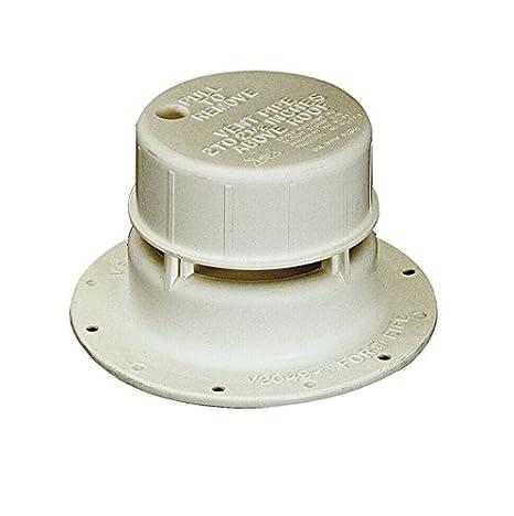 Ventline V2049-03 Colonial White 1-1//2 Plastic Plumbing Vent