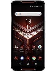 "ASUS ROG Gaming Phone ZS600KL (Snapdragon 845, 8GBRAM, 128GB Storage, Dual-SIM, Android, 6"" inch) Factory Unlocked 4G Smartphone (Black) - International Version"