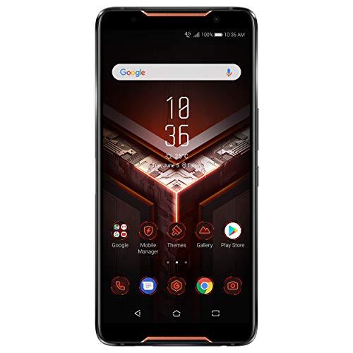 "ASUS ROG Gaming Phone ZS600KL (Snapdragon 845, 8GBRAM, 128GB Storage, Dual-SIM, Android, 6"" inch) (GSM Only, No CDMA) Factory Unlocked 4G Smartphone (Black) - International Version"