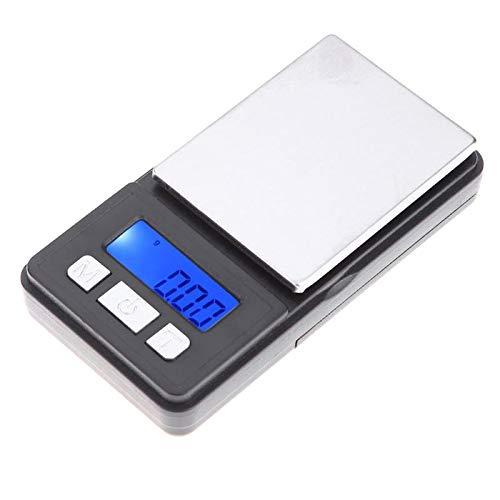 - StoreDavid - 500g/0.01g di Precisione Tascabile Portatile Digital Scale di Gioielli Peso Balance Grammo Bilancia Da Cucina