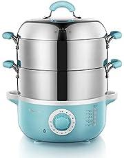 Bear-PowerPac Intelligent Electric Stainless Steel Food Steamer Convenient Steamer