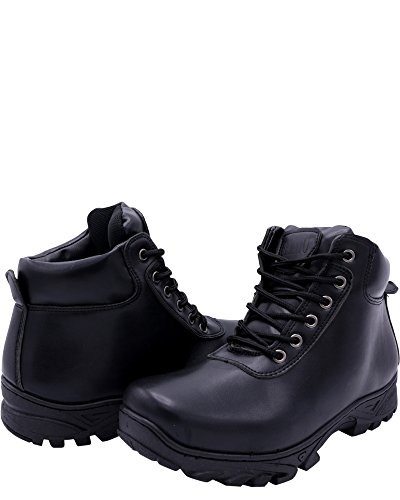 Gelato Gelato Mens Mid Cut Cut Boot Hiker Black Mens Mid Hiker Boot UqBwUa