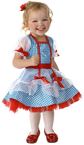 Princess Paradise Baby Girls' The Wizard of Oz Dorothy Glitter Deluxe Costume, As Shown, 12 to 18 Months