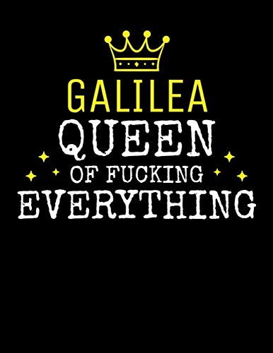 - GALILEA - Queen Of Fucking Everything: Blank Quote Composition Notebook College Ruled Name Personalized for Women. Writing Accessories and gift for ... Day, Birthday & Christmas Gift for Women.