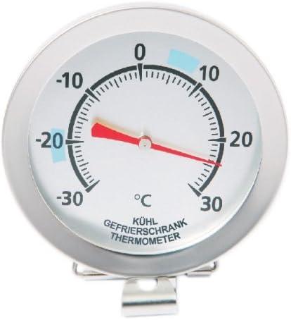 Kühlschrank Thermometer 4 Stück Set Gefrierschrank Kühl Eisfach Analog Haken