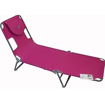Amazon Com Ostrich Chaise Lounge Pink Garden Amp Outdoor