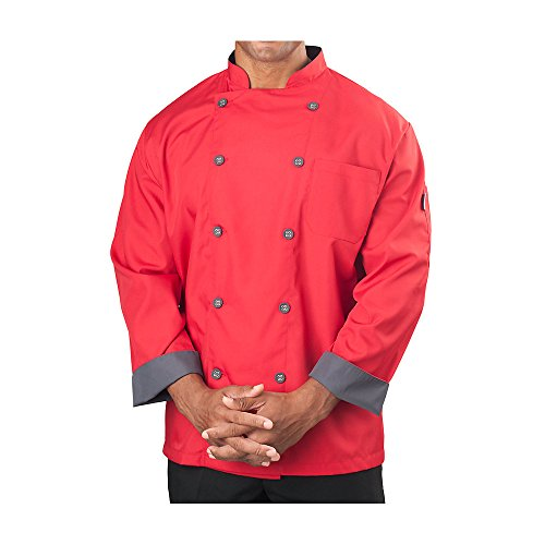 Red Chef Coat - 7