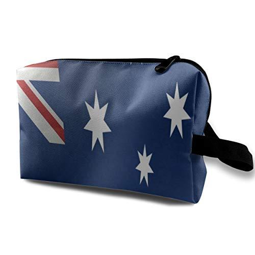 Travel Bags Australia Flag Toiletry Portable Beauty Bag For Women/Girls (Best Canvas Tents Australia)