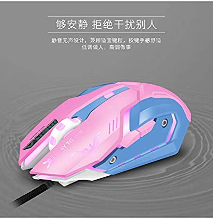 MeterMall 1.5M Computer Accessories Mechanical Mouse Mute Sound DVA Game Wired Mouse Watching Pioneer Death Electronic and Accessories