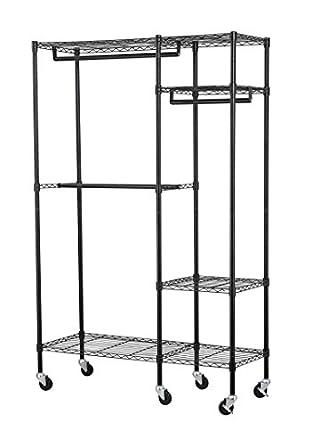 Muscle Rack EZGR4818RW3-BLK - Perchero para ropa (acero ...