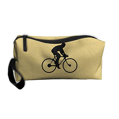 Jessent Coin Pouch Bicycle Pen Holder Clutch Wristlet Wallets Purse Portable Storage Case Cosmetic Bags Zipper