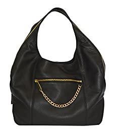 Vince Camuto Zoe Hobo Shoulder Bag Handbag Purse Handbag Black