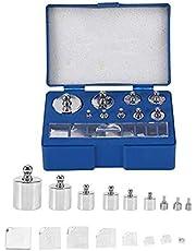 Acogedor 17Pcs Precision Calibration Weight Set, Precision Weight-10mg-100g