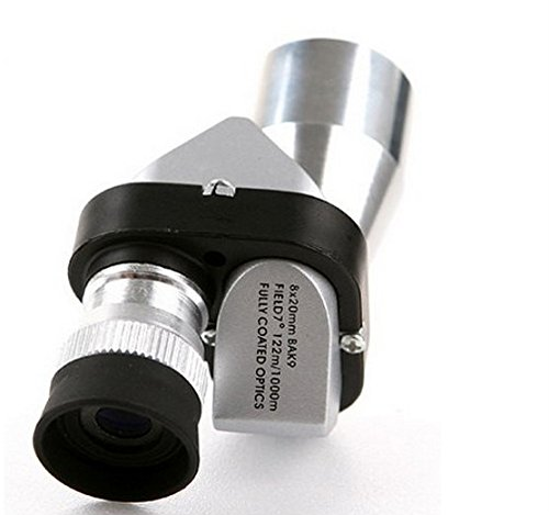 Price comparison product image Vellhater Creative 8x20 Mini Compact Pocket Monocular Outdoor Telescope (Blue Membrane)