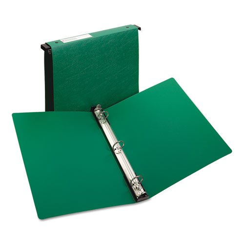 Avery Consumer Products Products - Hanging Storage Binder, 3 Ring, 1quot; Capacity, 11quot;x8-1/2quot;, Green - Sold as 1 EA - Three-ring hanging file binders offer an excellent data storage reference binder. Built-in quot;hangersquot; designed to hold bi by Avery