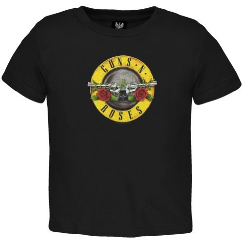 Guns N' Roses - Baby-boys Appetite Toddler T-shirt 2t Black ()