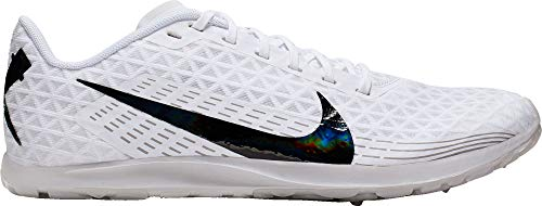 Nike Zoom Rival Waffle Cross Country Shoes - White/Black,M75W90M US (Zoom Victory Nike)