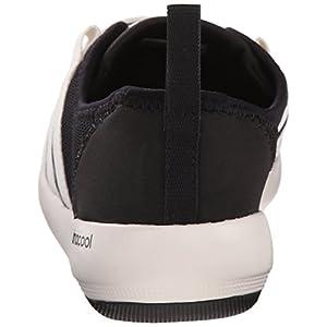adidas Outdoor Women's Climacool Boat Sleek Water Shoe, Black/Chalk White/Black, 9 M US