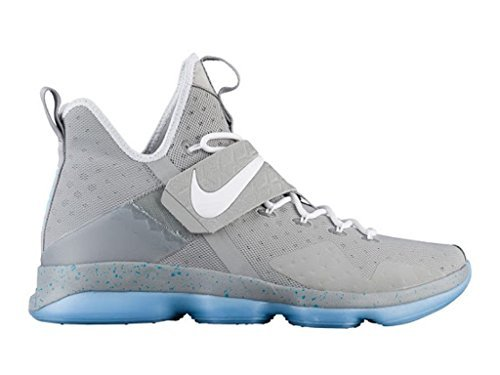 Nike LEBRON XIV Mens basketball-shoes 852405-005_11 - MATTE SILVER/WHITE-GLOW