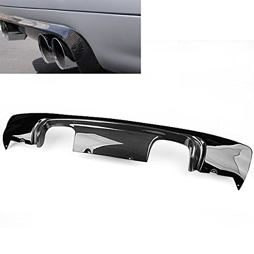 Hot Sale Real Carbon Fiber Exhaust Diffuser Rear Bumper Lip CSL Style For BMW E46 M3 2001-2006 Hot Bodies Carbon Fiber