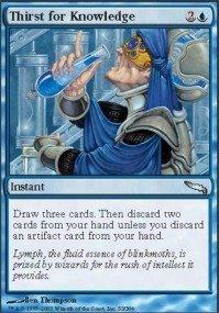 Magic: the Gathering - Thirst for Knowledge - Mirrodin