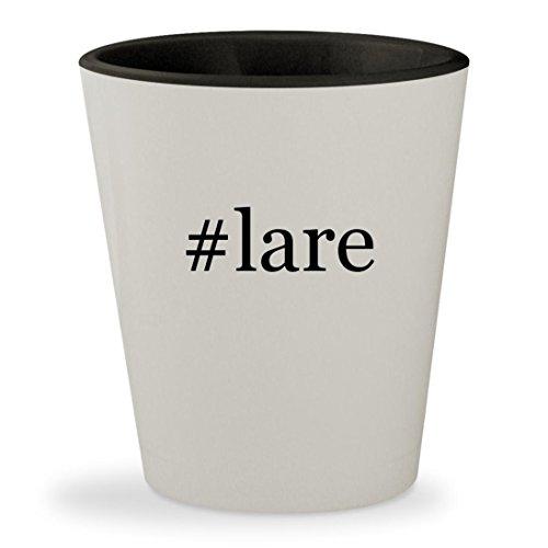 #lare - Hashtag White Outer & Black Inner Ceramic 1.5oz Shot - Thompson Dream Reviews