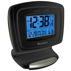 Westclox 70026A LCD Atomic Digital Alarm Clock