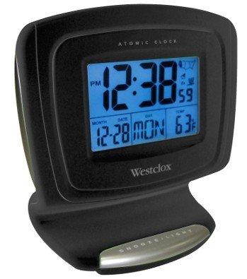 Westclox 70026A LCD Atomic Digital Alarm Clock