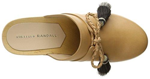 Loeffler Randall Femmes Hadley Mule Naturel / Noir Naturel