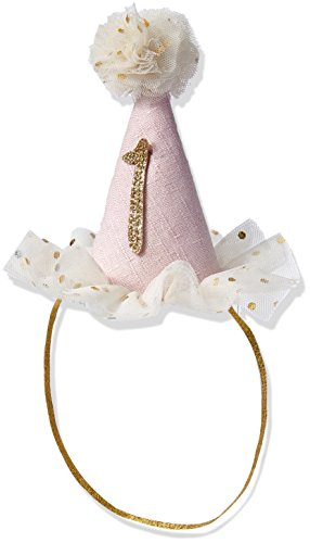 Mud Pie Baby Birthday Party Head Band Hat, One,  12-18 Months