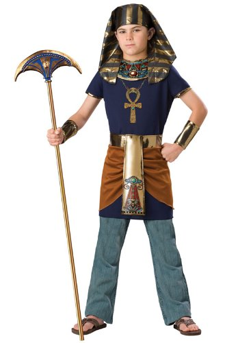 InCharacter Pharaoh Child Costume-Large (10)]()