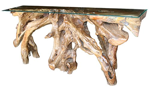 Teak Root Console Table Made By Chic Teak, 70 Inches (Teak Console)