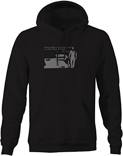 Stealth - Vin Diesel Fast Furious Racing Win by an Inch Quote Sweatshirt - Large (Vin Diesel Wife In Fast N Furious)