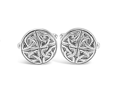 Sterling Silver Celtic Cufflinks Celtic Design Cufflinks