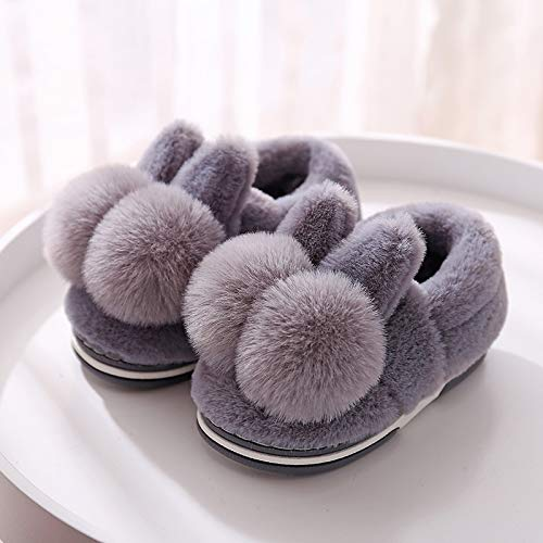 YOUBUY Toddler Kids Boy Girl Shoes Slippers Winter Cosy Bedroom Indoor House Cute Slippers