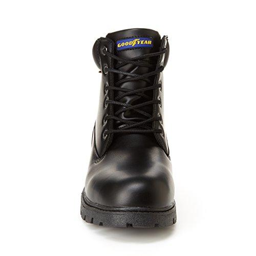 Bed Memory Oil Boots Slip Foam Resistant amp; Goodyear Maverik Foot Black Mens Work q04FZ