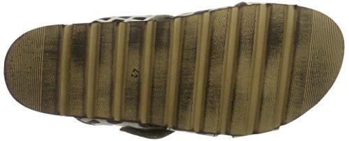 Mjus 339001-0201-6002, Pantofole Uomo Mehrfarbig (Nero)