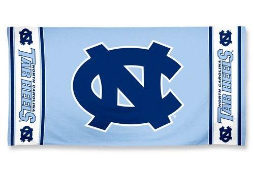 NCAA North Carolina Tar Heels Beach Towel, Team Color, One - Mall North Carolina Place