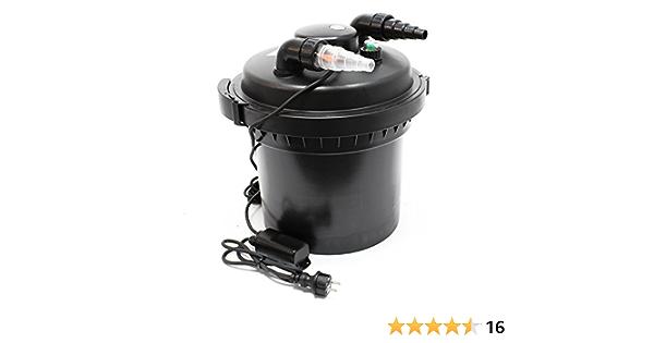 SunSun CPF-280 Filtro presión lámpara UVC 11W estanques hasta ...