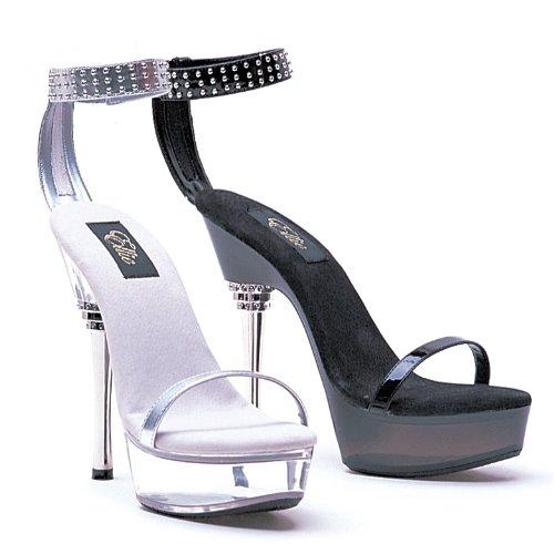 Ellie Shoes Womens 678-rowena 6 Platform Sandaal, Verkrijgbaar In 2 Kleuren Zwart