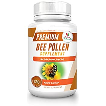 Amazon.com: Bee Pollen Supplement with Royal Jelly
