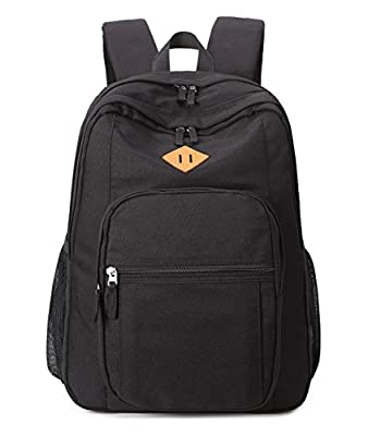 Abshoo Classical Basic Travel Backpack For School Water Resistant Bookbag