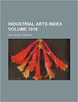Industrial arts index Volume 1916