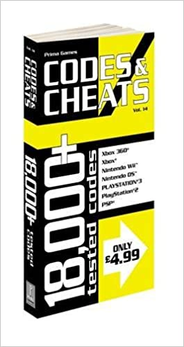 Codes and Cheats: Prima Official Codes and Cheats Book by