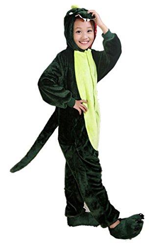 Unisex Children Dinosaur Costume Kids Kigurumi Animal Outfit Homewear