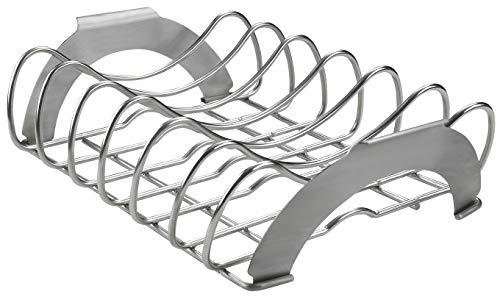 (Napoleon PRO Stainless Steel Rib/Roast Rack)