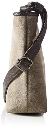 Tom Tailor Denim Mila - Shoppers y bolsos de hombro Mujer Marrón (Braun)