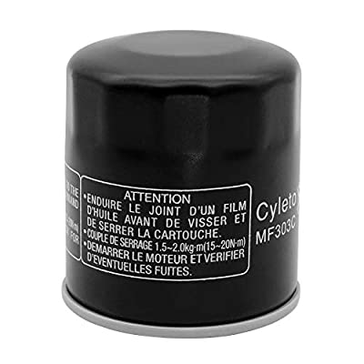 Cyleto Oil Filter For YAMAHA YFM660 GRIZZLY 660 2002 2003 / YFM 660 GRIZZLY AUTO 4X4 2004 2005 2006: Automotive
